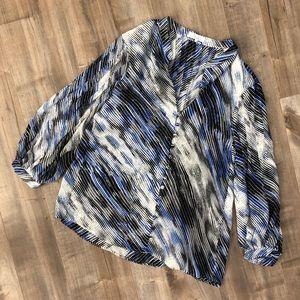 Parker printed blouse